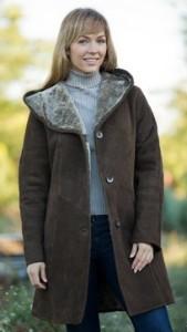 Maxine Shearling Sheepskin Coat