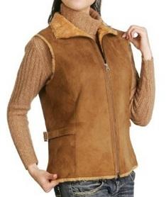 Womens-Classic-Shearling-Vest